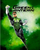 DC Comics GREEN LANTERN Superhero Fleece Fabric Panel (Great For Quilting, Sewing, Craft Projects, Wall Hangings, and More) 160cm Long