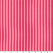 Clown Stripe Candy Pink Fabric Three Yards (2.7m) CX3584-CAND-D