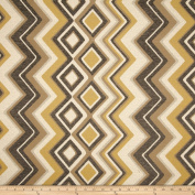 Swavelle/Mill Creek Stahl Jacquard Lemon Fabric