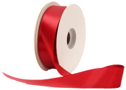 Offray Single Face Satin Craft 2.2cm by 100-Yard Ribbon Spool, Sherry