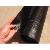 Mutual WF200 Polyethylene Woven Geotextile Fabric, 100' Length x 110cm Width