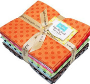 Cotton Dots Small Tone on Tone Fat Quarter Bundle by Riley Blake Designs SKU# FQ-420-11