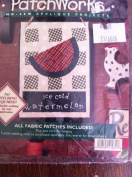 Patchwork No Sew Applique Projects Farm Ice Cold Watermelon