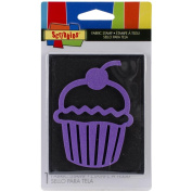 Scribbles Fabric Stamp-Small Cup Cake