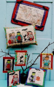 Happy Haunting - 46cm x 33cm Mini-Quilt Pattern #119 by Tammy De Young