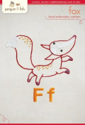 "Penguin & Fish ""Fox"" Hand Embroidery Pattern"