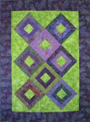 All the Way Around Quilt Pattern By 4th & 6th Designs