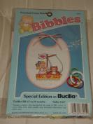 "Bibbles ""Sailor Girl"" Counted Cross-Stitch Bib Kit by Bucilla"
