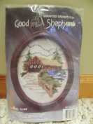 Good Shepherd Counted Crosstitch House, Dmc Floss