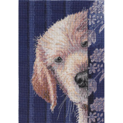 Bucilla 45518 Counted Cross Stitch Heirloom Treasures Picture Kits, I Didn't Do It
