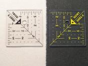 6.4cm x 6.4cm Designer Series Reverse-A-Rule - Unique & Innovative Squares, Rulers & Templates