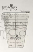 The Crumbler Tumbler Quilting Template Ruler by Miss Rosie's Quilt Co ~ 7.6cm to 13cm Solo Cups