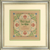 Dimensions Needlecrafts Counted Cross Stitch Kit, Two as One Wedding Record