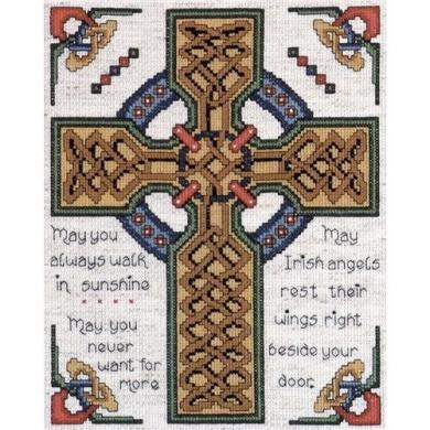 Tobin Celtic Cross Counted Cross Stitch Kit