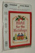 Home For The Holidays Counted Cross Stitch Kit #3796