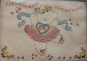 Bear Ballerina - Banar Designs Embroidery Kit #KEM 91029