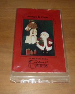 Christmas Kringle & Claus Pattern