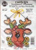 Curly-Q's Needlepoint Ornament