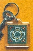 Textile Heritage Keyring Counted Cross Stitch Kit - Celtic Cross