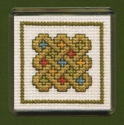 Textile Heritage Magnet Cross Stitch Kit - Celtic Knot
