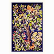 Counted Cross Stitch Chart Woodland Grouse by Arts and Crafts Movement Founder William Morris