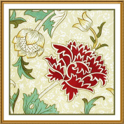 Counted Cross Stitch Chart Chrysanthemum by Arts and Crafts Movement Founder William Morris