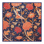 Cray in Earthtones by Arts and Crafts Movement Founder William Morris Counted Cross Stitch Chart