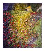 Counted Cross Stitch Chart/Graph Art Nouveau Artist Gustav Klimt's Italian Gardens Landscape