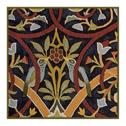 Bullerswood #1 by Arts and Crafts Movement Founder William Morris Counted Cross Stitch Chart