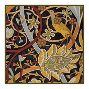 Bullerswood #2 by Arts and Crafts Movement Founder William Morris Counted Cross Stitch Chart