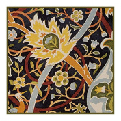 Bullerswood #3 by Arts and Crafts Movement Founder William Morris Counted Cross Stitch Chart