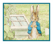 Peter in the Garden inspired by Beatrix Potter Counted Cross Stitch Chart