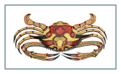 Fallour's Renard's Fantastic Colourful Tropical Crab 6 Counted Cross Stitch Chart