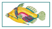 Fallour's Renard's Fantastic Colourful Tropical Fish 20 Counted Cross Stitch Chart