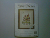 """Love Notes Cross Stitching From the Heart """"Home"""""""