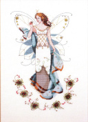 May's Emerald Fairy - Cross Stitch Pattern