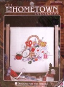 Stitching - Vintage 25cm x 25cm Counted Cross Stitch Kit