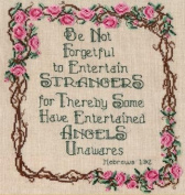 Pegasus Originals Angels Unawares Counted Cross Stitch Chartpack