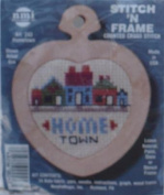 Hometown - Stitch N Frame Ornament - Counted Cross Stitch Kit #243