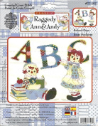 Raggedy Ann & Andy Counted Cross Stitch Kit - 28cm x 36cm - School Days