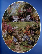 Marty Bell's BirdSong Garden Counted Cross Stitch Chartpack