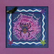 Mill Hill Beads Buttons Counted Cross Stitch kit - Tangled Web