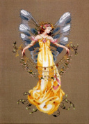 Adia, The Garden Fairy Cross Stitch Pattern