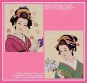 Japanese Beauty, Cross Stitch from Pinn Stitch