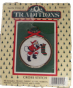 Santa Claus Cross Stitch by Traditions #T8557