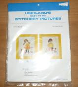 Vintage Highland's Little Boy Stitchery Kit