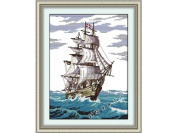 Happy Forever Cross Stitch, Scenery, smooth 1