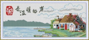 Happy Forever Cross Stitch, Scenery, warm home