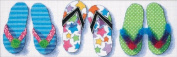 Dimensions Needlecrafts Counted Cross Stitch, Flip Flop Frenzy
