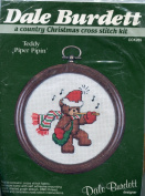 Dale Burdett Teddy Piper Pipin' ~ A Country Christmas Cross Stitch Kit